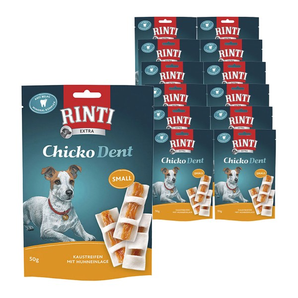 Rinti Hundesnack Chicko Dent Huhn small 12x50g