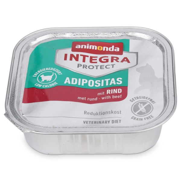 Animonda Katzenfutter Integra Protect Adipositas mit Rind