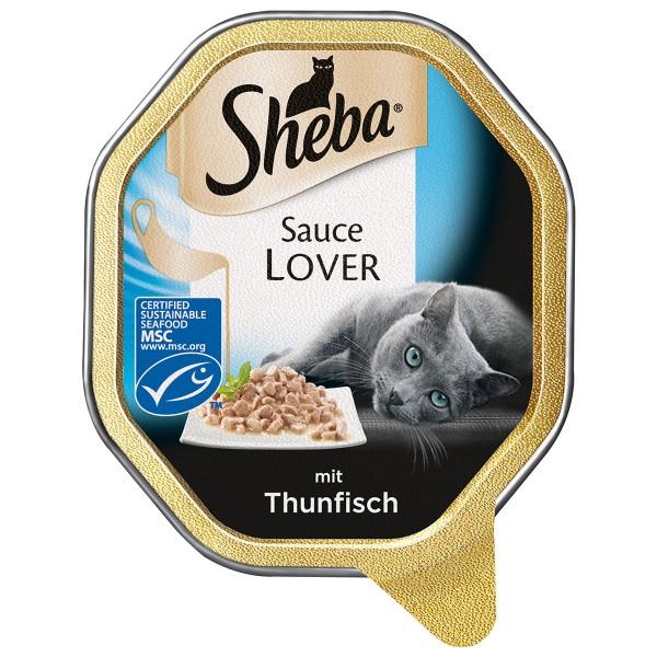 Sheba Katzenfutter Sauce Lover Thunfisch (MSC) ...