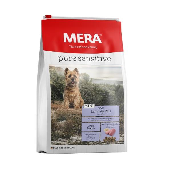 MERA pure sensitive Trockenfutter MINI Lamm&Reis