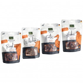 Hunter Hundesnack Nature Probierpaket 4x75g