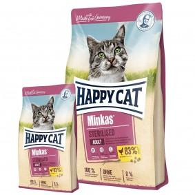 Happy Cat Minkas Sterilised Geflügel 10kg + 1,5kg gratis
