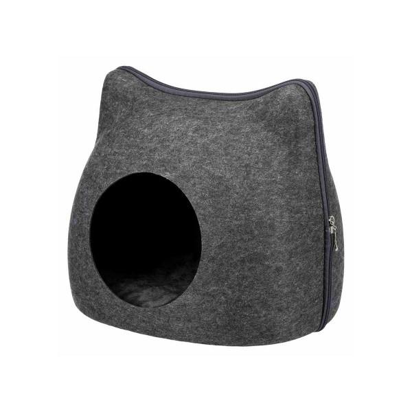 Trixie Kuschelhöhle Cat - anthrazit