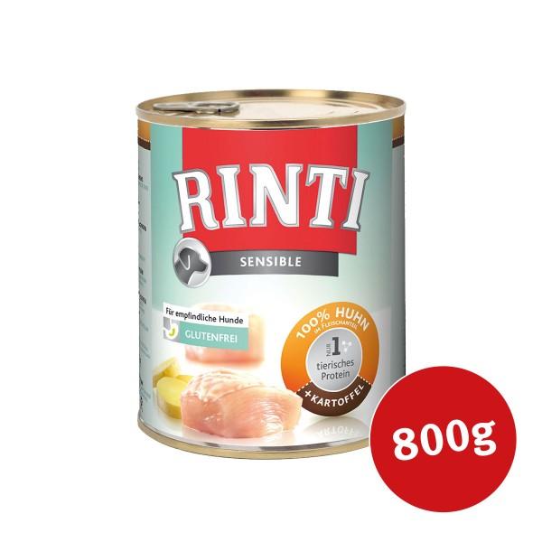 Rinti Hunde-Nassfutter Sensible Huhn und Kartoffel