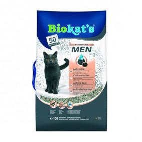 Biokat's Katzenstreu Men mit Aktivkohle 10l