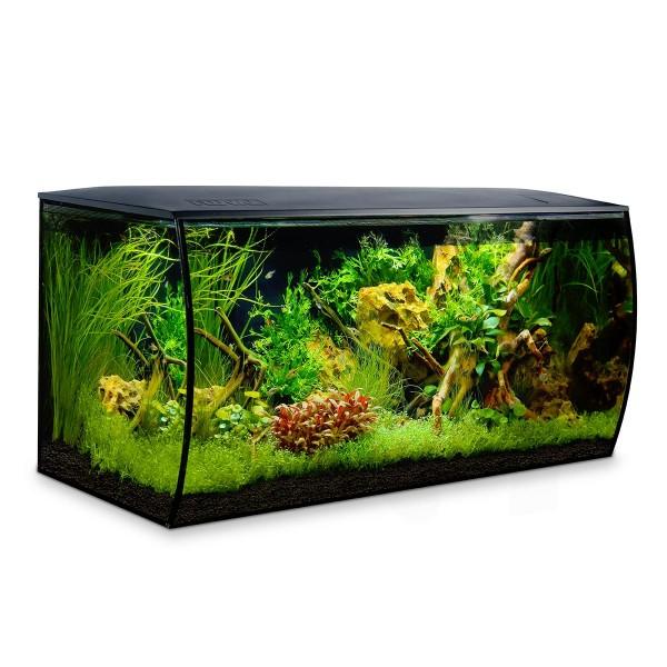 Fluval Meerwasseraquarium FLEX MARINE 123 Liter schwarz