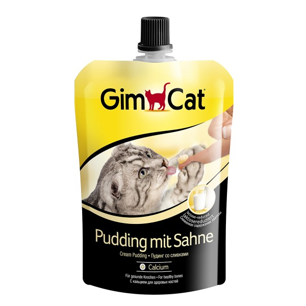 GimCat Pudding mit Sahne 150g
