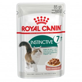 Royal Canin Katzenfutter Instinctive +7 in Soße 12x85g