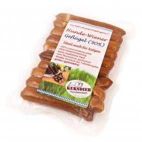 Keksdieb Hundesnack Hunde-Wiener Geflügel 10 Stück