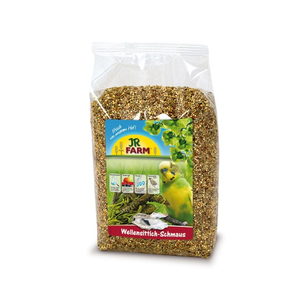 JR Farm Wellensittich-Schmaus 1kg