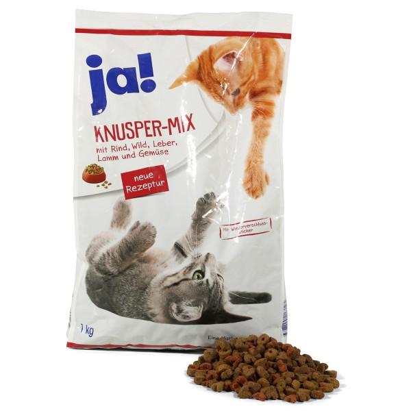 ja! Katzenfutter Knuspermix