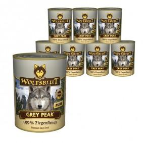 Wolfsblut Grey Peak Pure mit Ziegenfleisch 12x395g