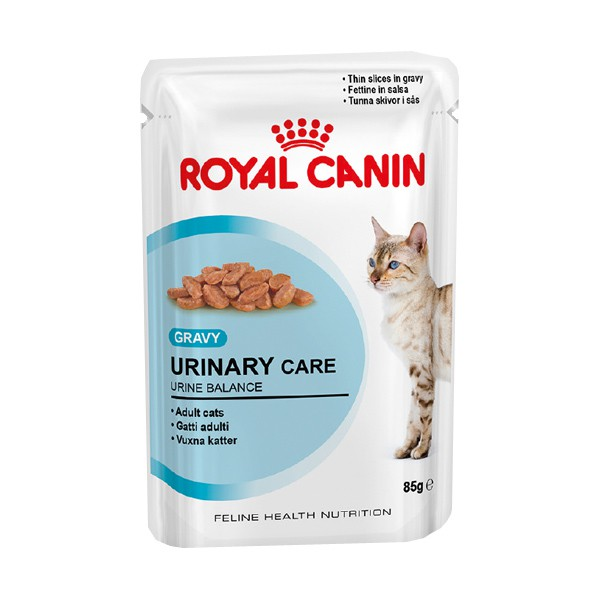 Royal Canin Katzenfutter Gravy Urinary Care in Soße 85g - broschei