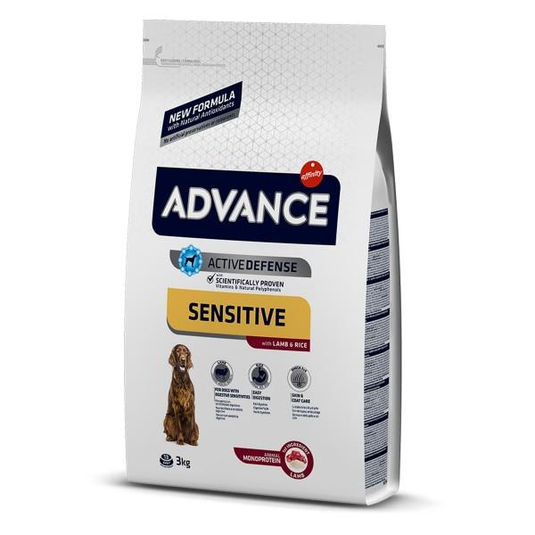 Advance Sensitiv mit Lamm und Reis 3kg