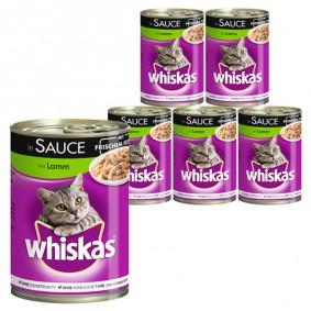 Whiskas Katzenfutter 1+ mit Lamm in Sauce 400g
