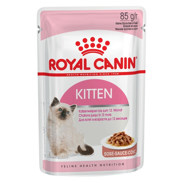 Royal Canin Kitten Instinctive - Aliment pour chats 12 x 85 g