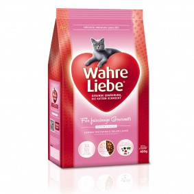 Wahre Liebe - Croquettes pour chats gourmets