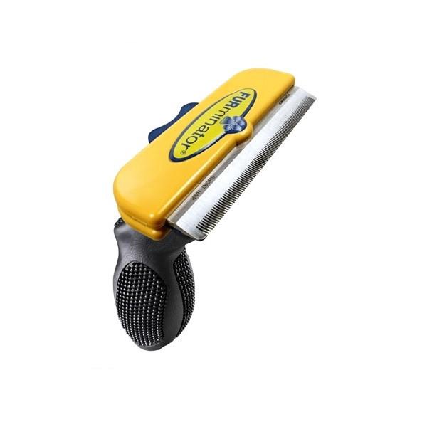 FURminator Fellpflegewerkzeug deShedding Tool Kurzhaar Größe L