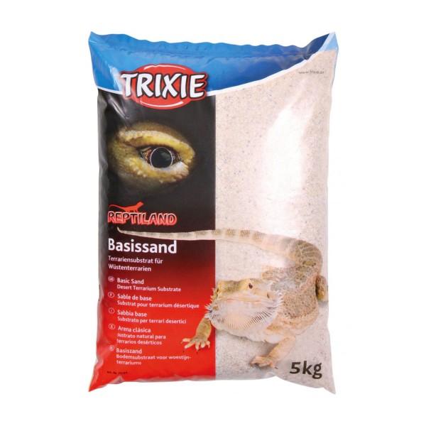Vorschaubild von Trixie Basissand für Wüstenterrarien 5kg - Weiß