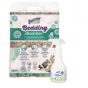 Bunny Bedding Absorber 20l + alles Klärchen 500ml GRATIS