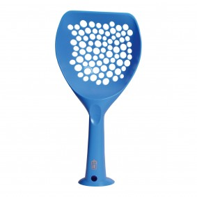 Catit Katzenstreulöffel blau