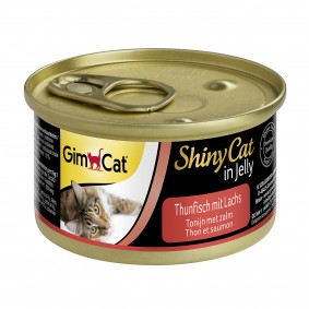 GimCat ShinyCat in Jelly Thunfisch mit Lachs