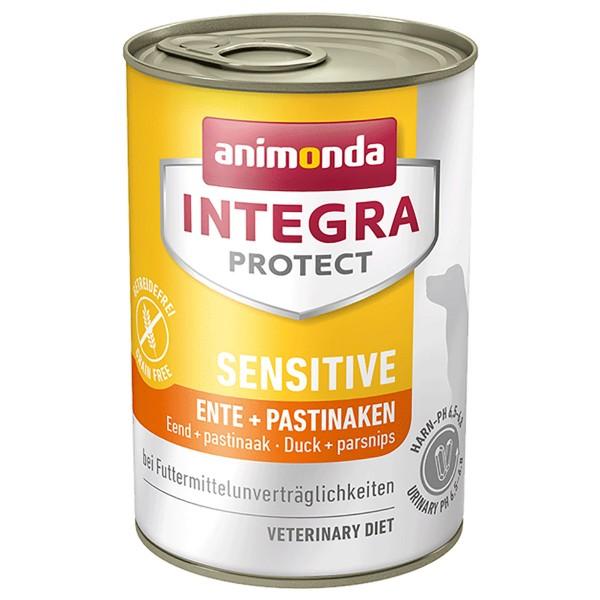 Animonda Integra Protect Hundefutter Adult Sensitive Ente und Pastinaken