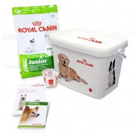 Royal Canin X-SMALL Junior Hunde-Starterpaket für Welpen