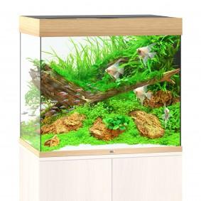 Juwel Lido 200 LED Komplett Aquarium ohne Schrank helles holz
