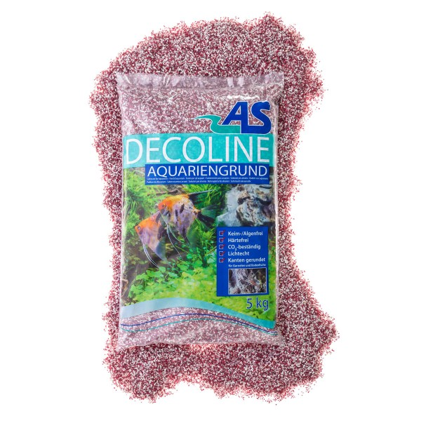 AS Decoline Aquarienkies rot-weiß 5 kg