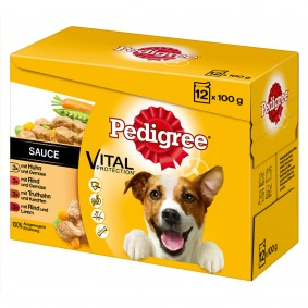 Pedigree Adult in Sauce Multipack 12x100g