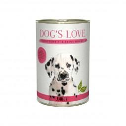 Dog's Love Junior Rind mit Karotte und Salbei