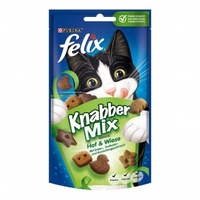 FELIX KnabberMix Hof & Wiese 3x60g