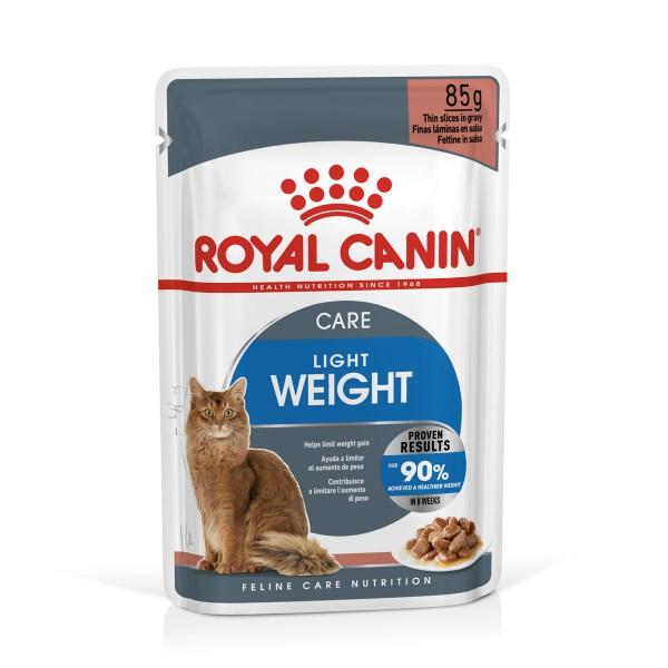ROYAL CANIN ULTRA LIGHT in Soße Nassfutter für zu Übergewicht neigenden Katzen