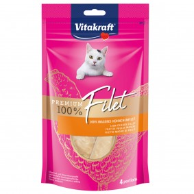 Vitakraft Katzensnack Premium Filet Huhn