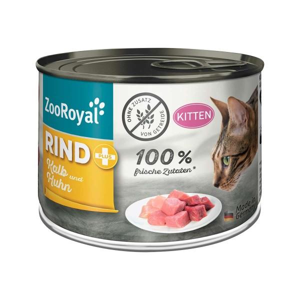 ZooRoyal Kitten Rind + Kalb & Huhn 200g
