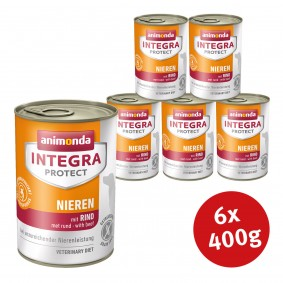 Animonda Integra Protect Hundefutter Adult chronische Niereninsuffizienz Rind