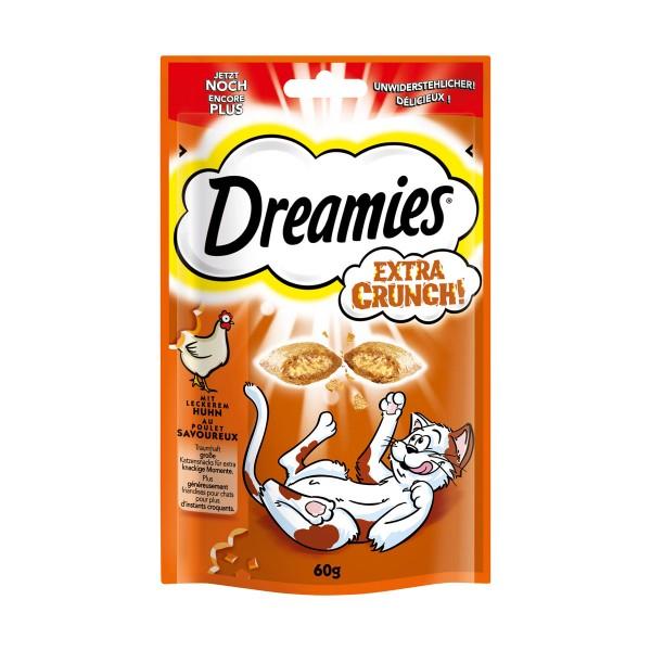 Dreamies Katzensnack Extra Crunch mit Huhn
