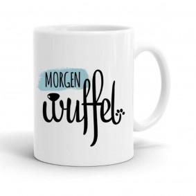 Keramik-Tasse Morgenwuffel