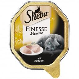 Sheba Katzenfutter Finesse Mousse Geflügel