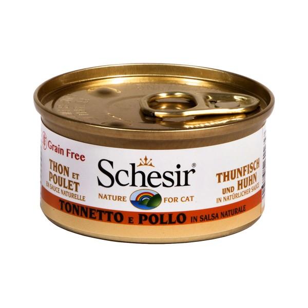 Schesir Natural Sauce Thunfisch & Huhn