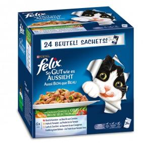 FELIX So gut wie es aussieht Multipack mit Gemüse 24x100g