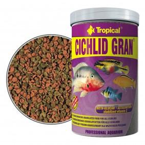 Tropical Cichlid Gran Fischfutter