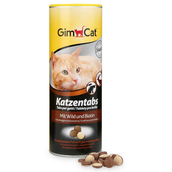 GimCat Katzentabs Wild 710 Stück