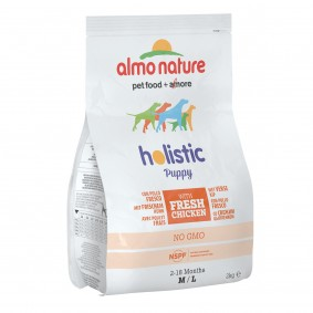 Almo Nature Holistic Medium Dog PUPPY mit Huhn