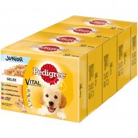 Pedigree Portionsbeutel Junior in Gelee Multipack 48x100g