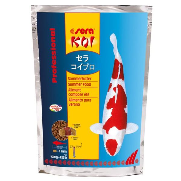 Sera KOI Professional Sommerfutter - 2200g