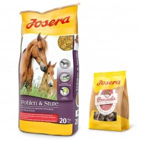 Josera Fohlen & Stute 20 kg + Pommelie gratis