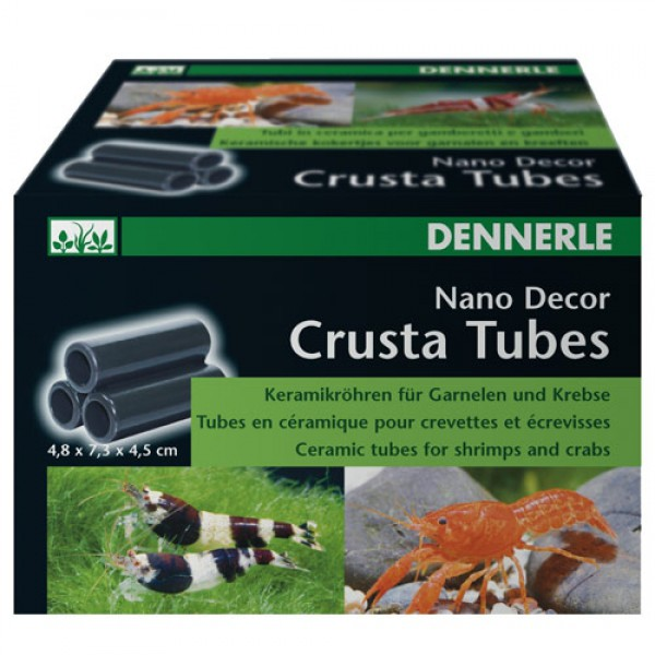 Dennerle Nano Decor Crusta Tubes 3er Röhre klein