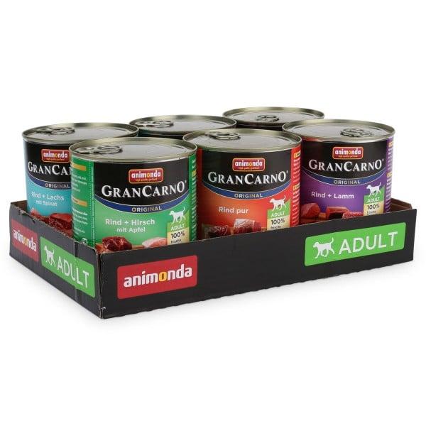 Animonda GranCarno 800g Mixpaket 1